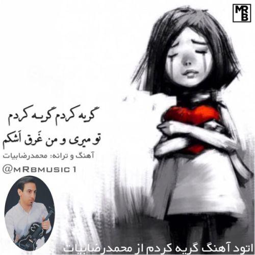 دانلود آهنگ جدید محمدرضا بیات گریه کردم