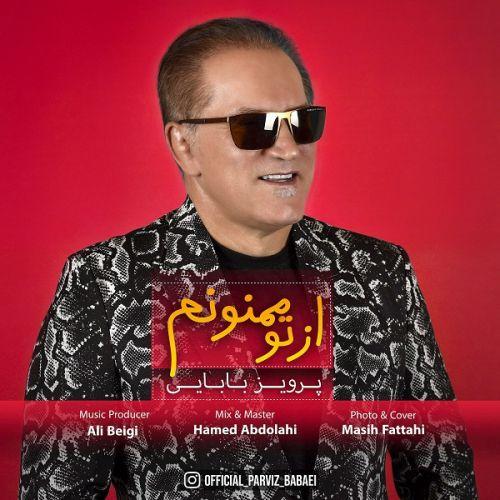 دانلود آهنگ جدید پرویز بابایی از تو ممنونم