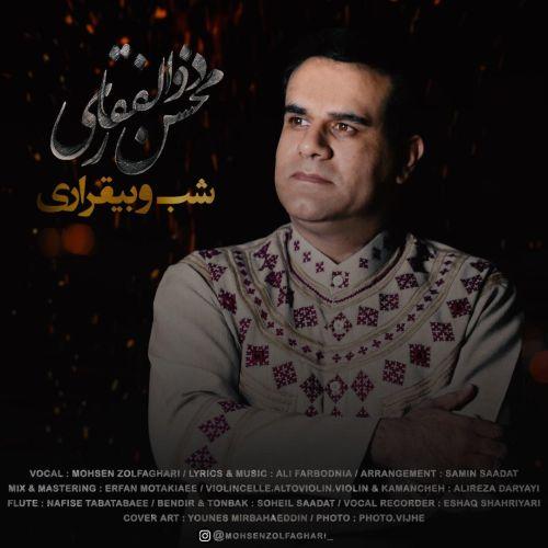 دانلود آهنگ جدید محسن ذوالفقاری شب و بیقراری